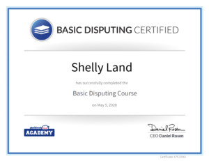 credit repair cloud basic dispute certificate