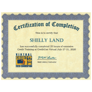 Credit Con certificates